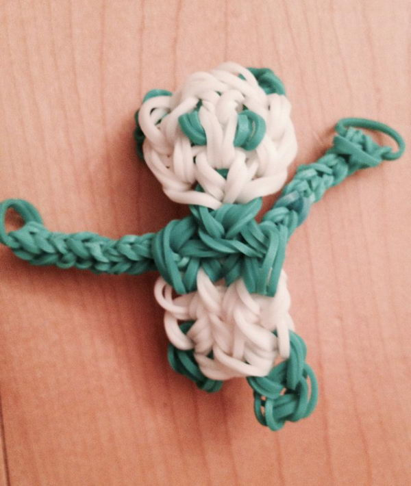 Rainbow Loom Dancing Panda. Rainbow Loom is one of the hottest craft activities for kids.