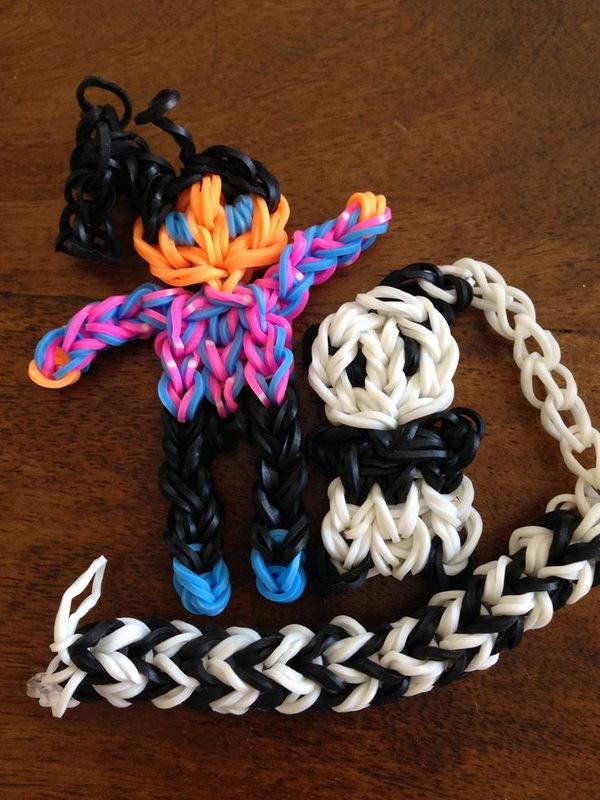 A Girl and Her Panda. Rainbow Loom is one of the hottest craft activities for kids.