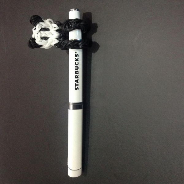Panda Pencil Hugger. Rainbow Loom is one of the hottest craft activities for kids.