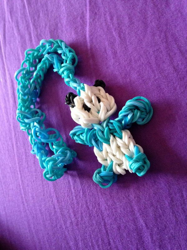 Rainbow Loom Panda Bear. Rainbow Loom is one of the hottest craft activities for kids.