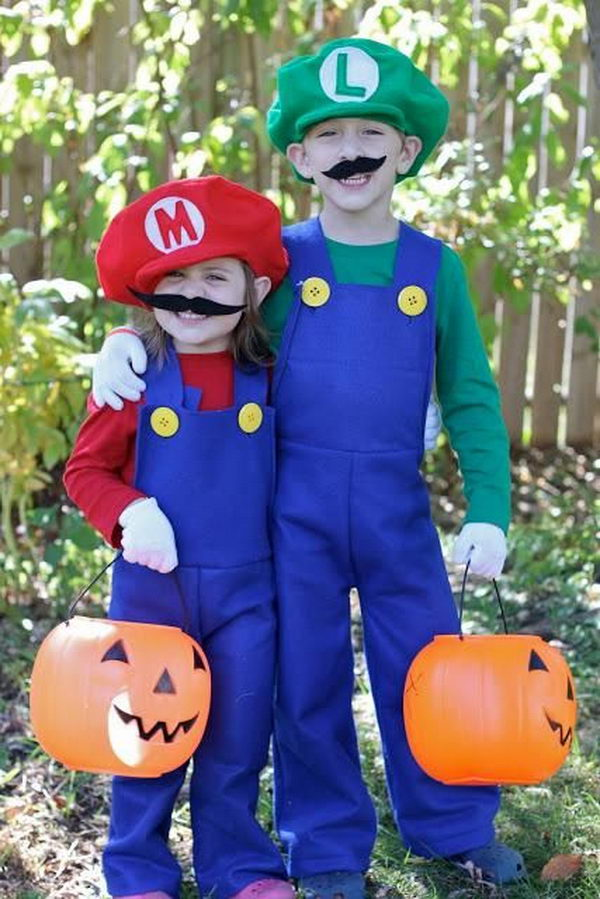 DIY Mario and Luigi Costumes. Super Cool Character Costumes. With so many cool costumes to choose from, you have no trouble dressing up as your favorite sexy idol this Halloween.