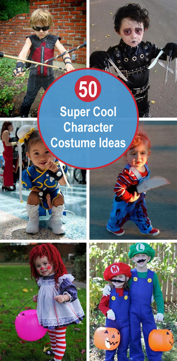 50 Super Cool Character Costume Ideas.