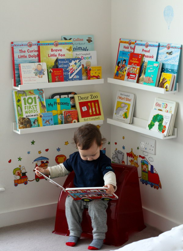 Book Shelf Ideas Diy Kids Rooms