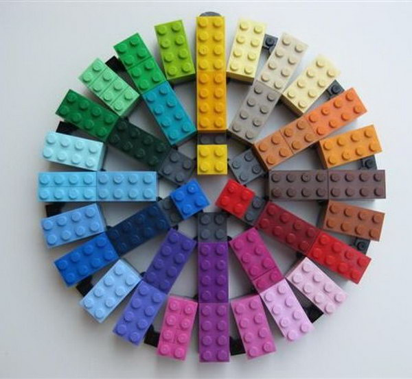 Lego color wheel,