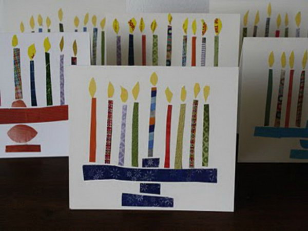 Hanukkah Greeting Cards.