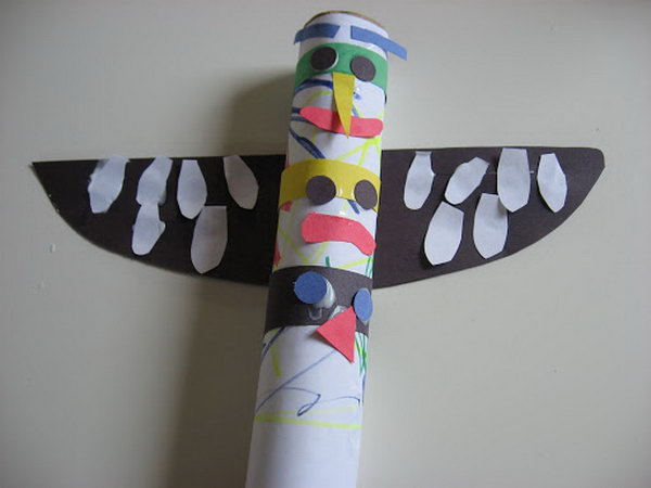 Totem Pole Craft,