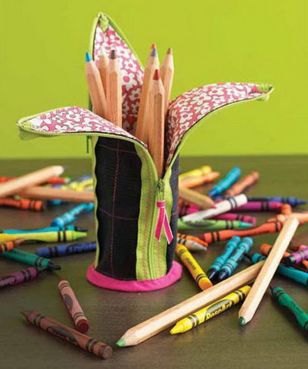 Banana-Peel Pencil Case. There's nothing like a cool pencil case full of cool pencils, erasers and accessories to excite your kids' imagination and ignite their creative and linguistic passions. Show how much you care about them.