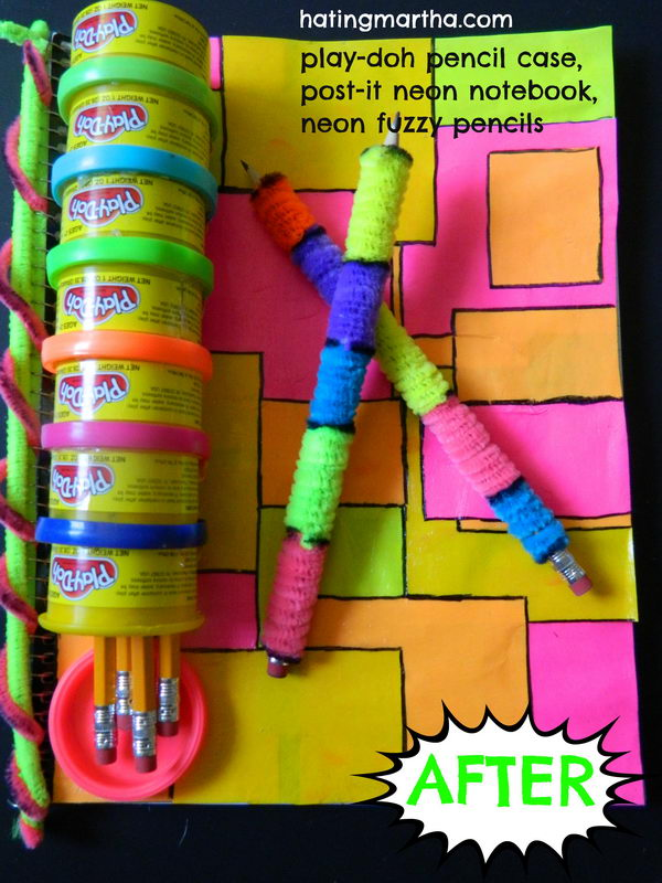 Play Doh Pencil Case. There's nothing like a cool pencil case full of cool pencils, erasers and accessories to excite your kids' imagination and ignite their creative and linguistic passions. Show how much you care about them.