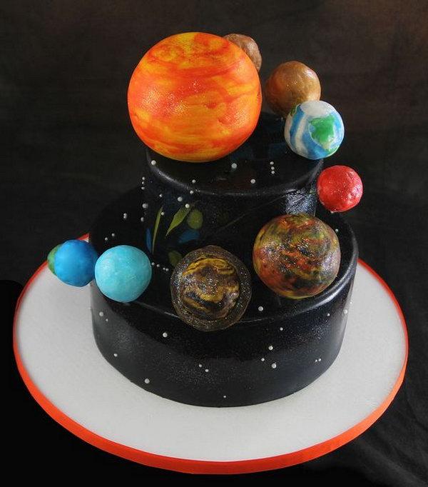 Solar System Cake,