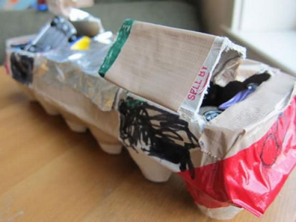Egg Carton Transport Ship.