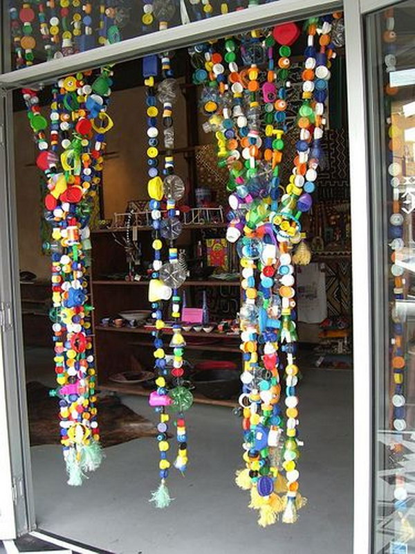 Bottle Top Curtain,