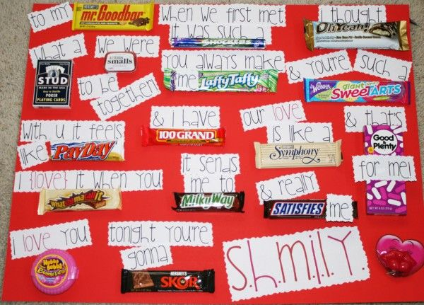 This romantic candy bar card will totally help you next time you are creating a card for your honey.