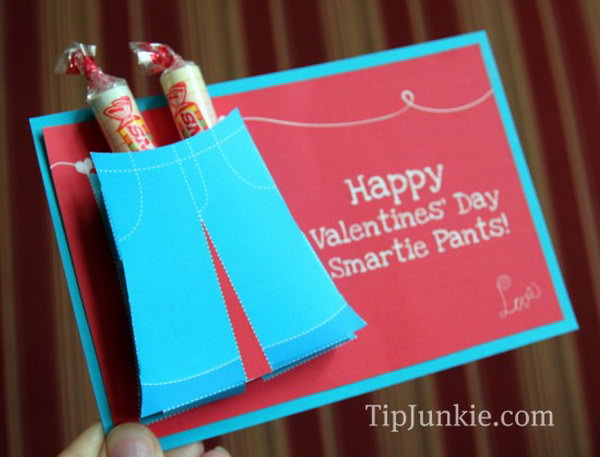 Creative Valentine Cards For Kids – Valentines Cards with Candy