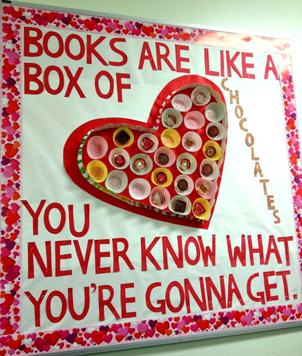 Creative Valentine S Day Bulletin Board Ideas