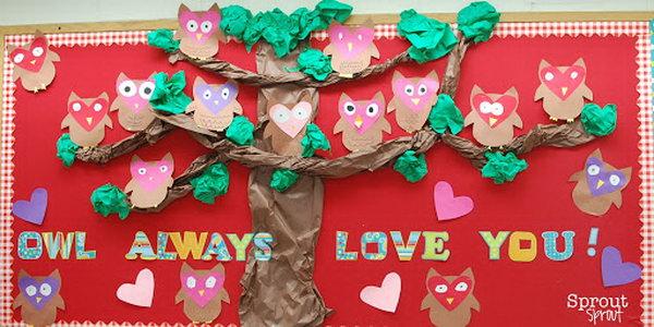 Owl Always Love You Bulletin Board,