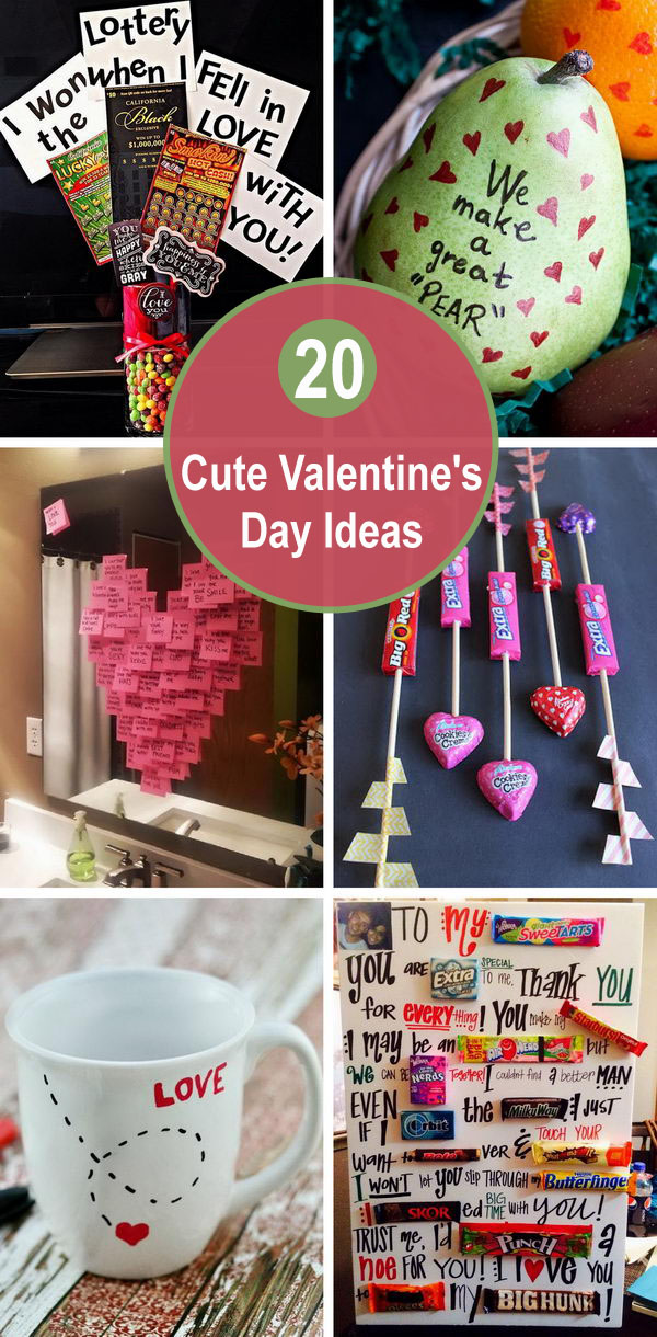20+ Cute Valentine's Day Ideas.