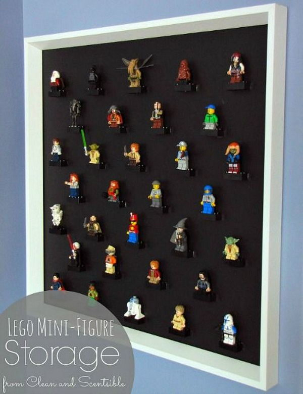 Under Bed Tool Box >> Creative Lego Storage Ideas