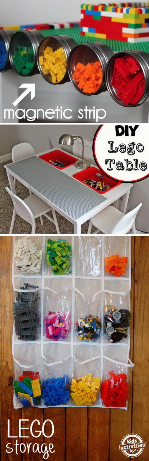 Creative Lego Storage Ideas.
