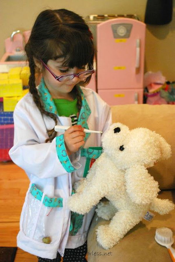 Vet's Office Pretend Play. Kids always had so much fun taking care of animals and you would be amazed at all learning that took place in the dramatic play area.