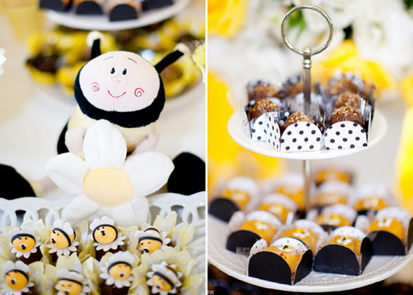This bee themed party has a fresh look just like this spring. It has so many intricate details and fabulous ideas!