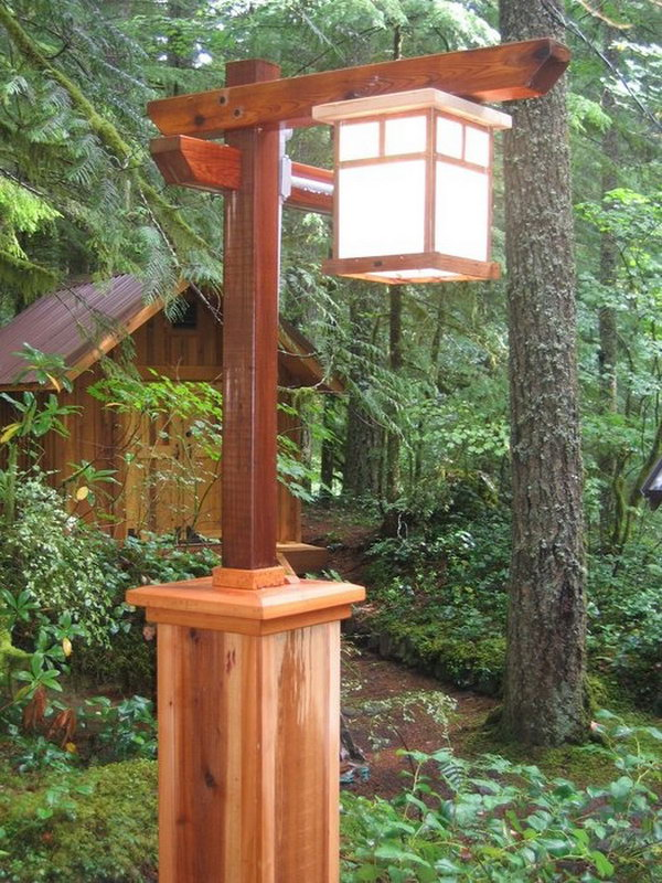 The cabin in the woods. Tons of good outdoor atmosphere.The cabin is part of the nature.