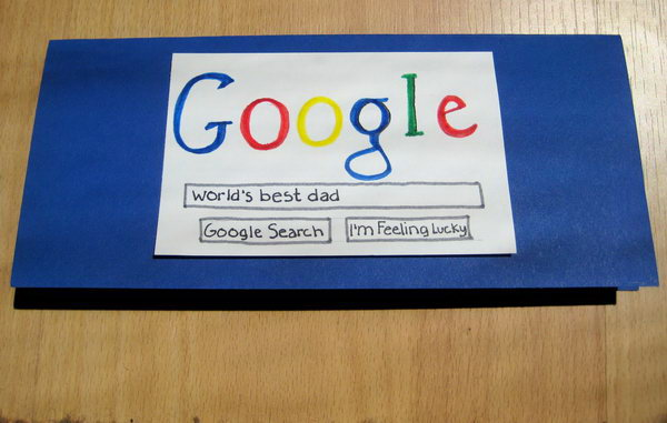 Google Search Father's Day Card