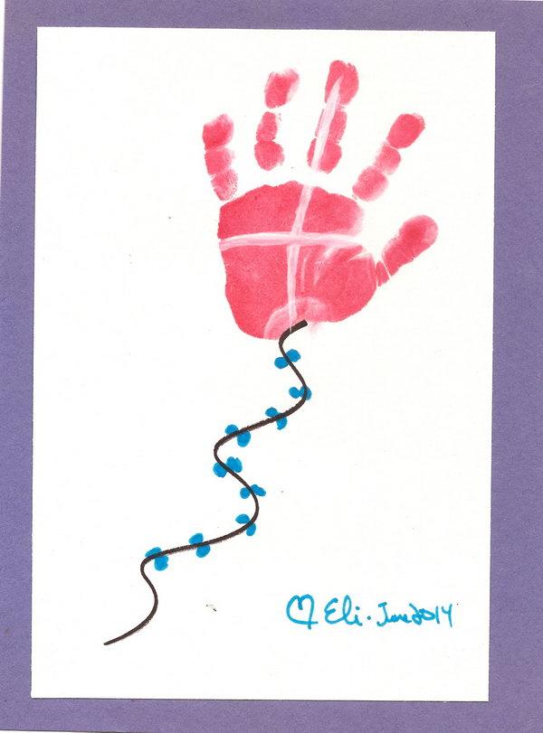 Handprint Kite.