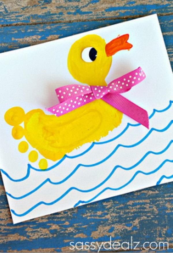 Footprint Duck.