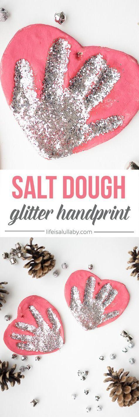 pics How to Make Salt Dough Handprints