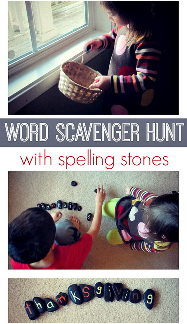 Word Hunt with Spelling Stones. Stop learning loss during the summer vocation. This educational game  is also a word spelling lesson.   Kids enjoy great fun when  searching all the letters of the certain words. Learn more here.