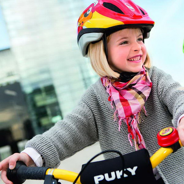Bicycle Helmet. Riding is a great way to stay fit for kids. However, it is important to stay safe while riding, or the consequences can be dire. Wearing a helmet is critical in case your kids should take a bad fall off of the bike. Bicycle helmets can reduce head injuries by 85 percent, according to Safe Kids Worldwide.