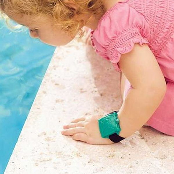 Safety Turtle Swimming Pool Alarm. Kids staying in a house with a pool can wear these turtle bands for extra peace of mind, if the bands are immersed in water, the alarm will sound.