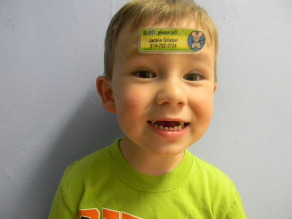 Child  ID Tattoos. Consider placing your contact information  directly on your kids in case you get separated from one another when you are playing outside with your kids.
