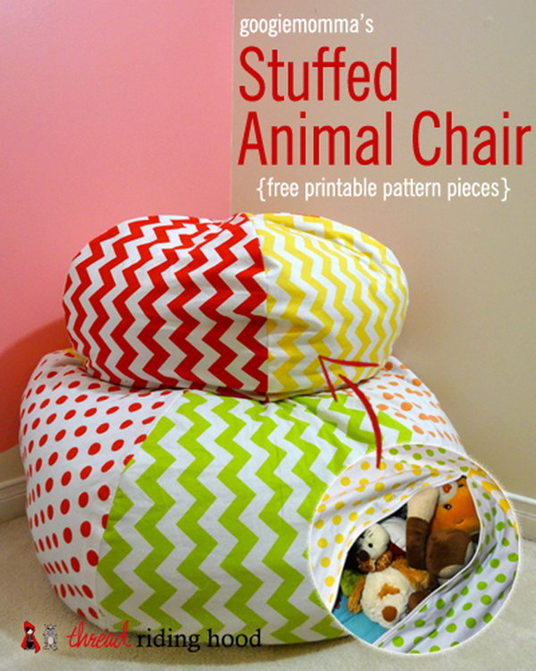Stuffed Animal Chair