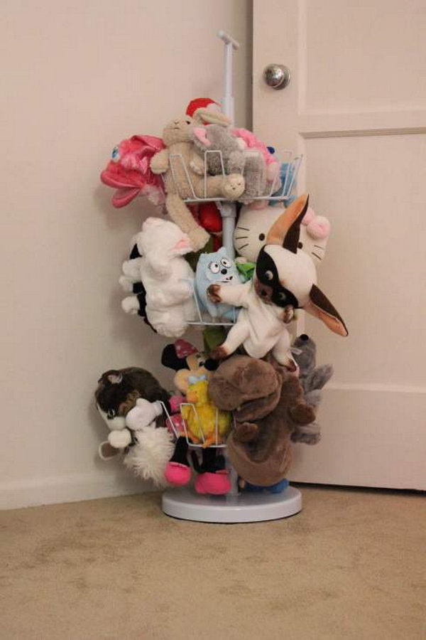 Shoe Holder as a stuffed Toy Storage