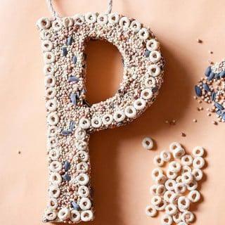 20 Cool DIY Cardboard Letters