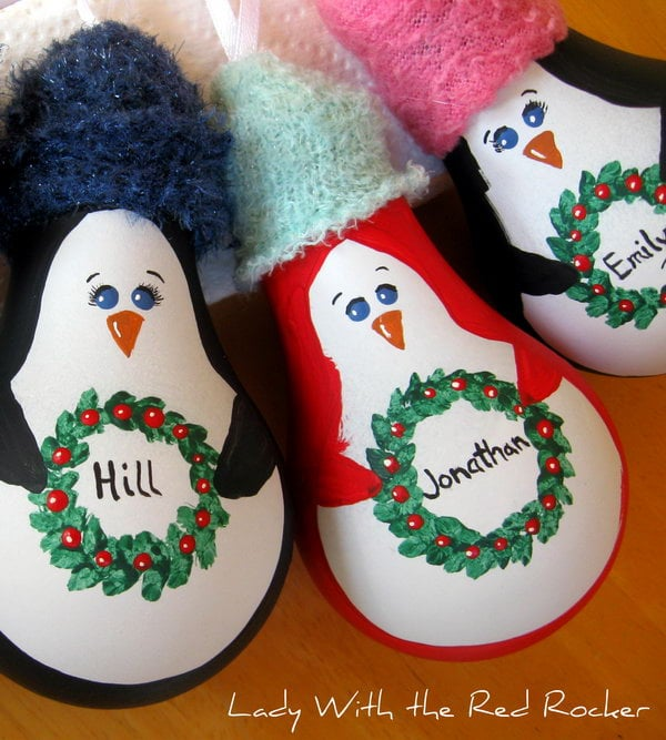 1 christmas penguin crafts