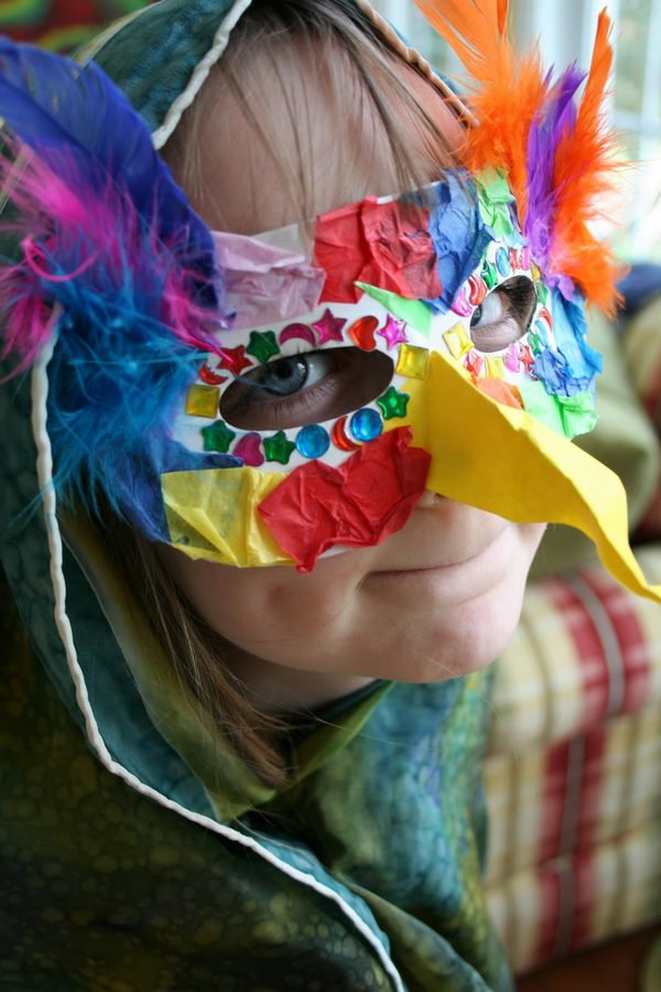 20 Diy Halloween Mask Crafts For Kids Sponge Kids