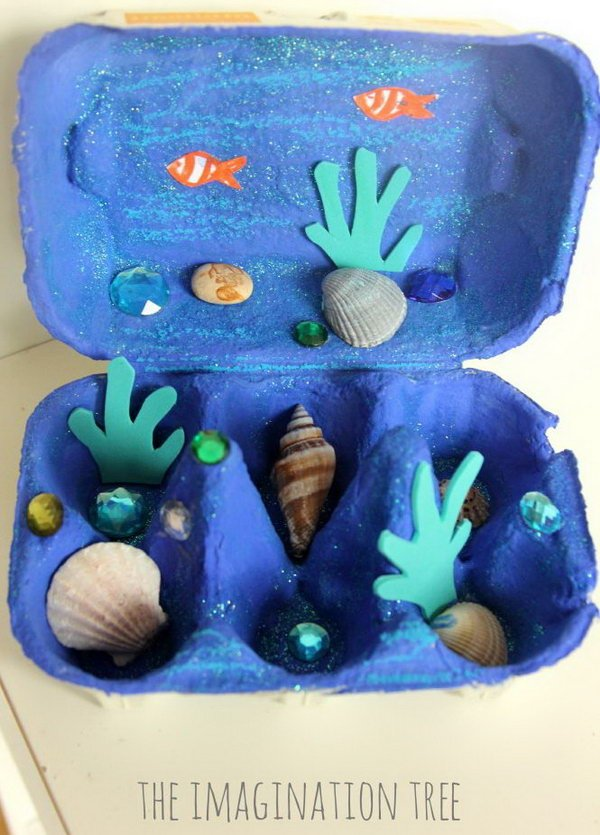 1 cool egg carton crafts