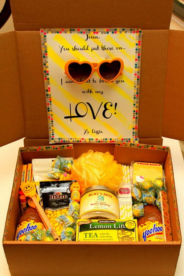 1 creative college care package ideas