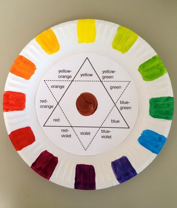 1 creative color wheel project ideas