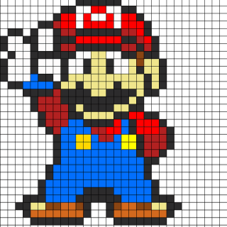 40 Cool Perler Bead Patterns