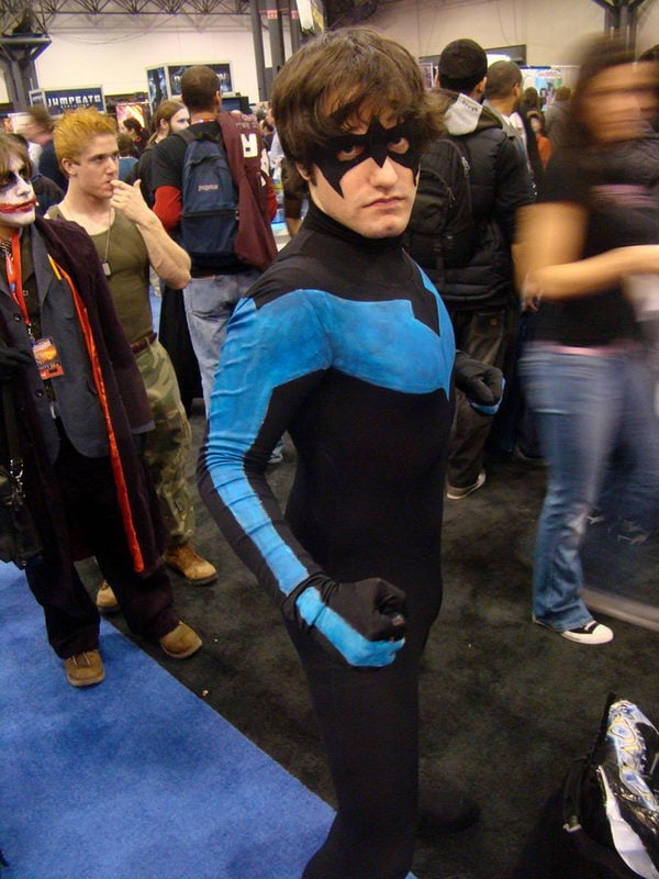 1 nightwing halloween costume