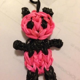 10 Cute Rainbow Loom Panda Charm Ideas for Kids