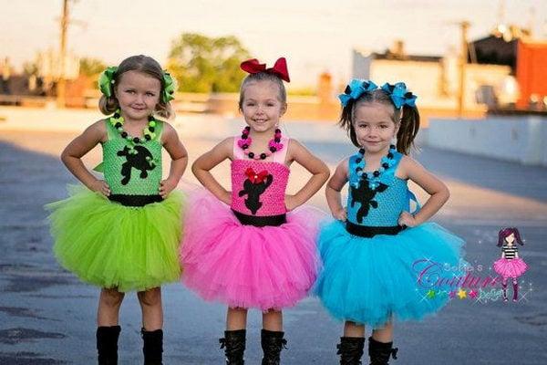 1 power puff little girls