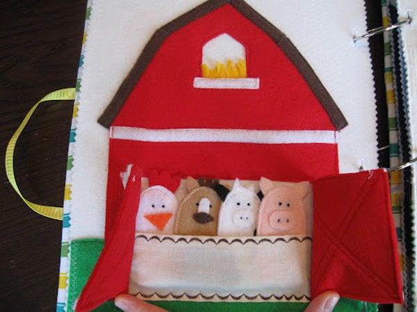 Quiet book ideas for kids for The idea door quiet book