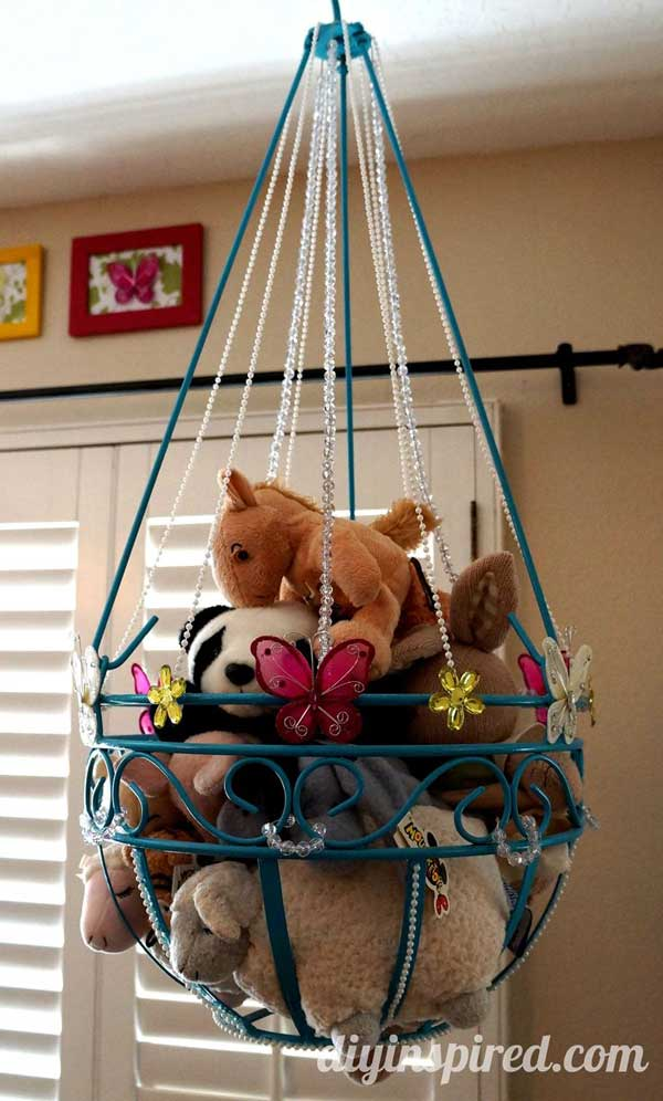 1 stuffed toy storage ideas