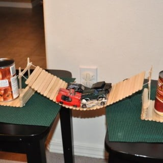 how to make a model bridge out of popsicle sticks