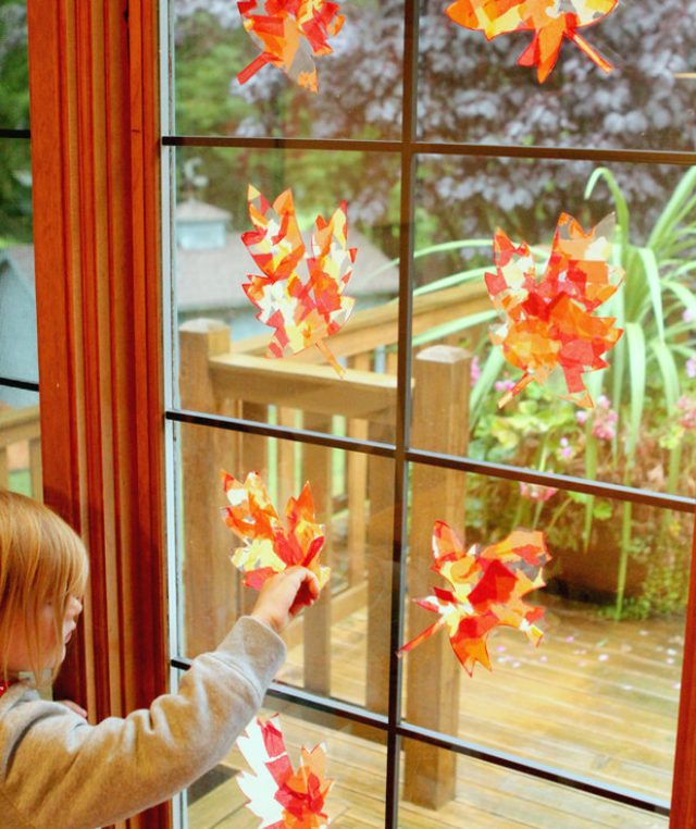 16 easy fall crafts