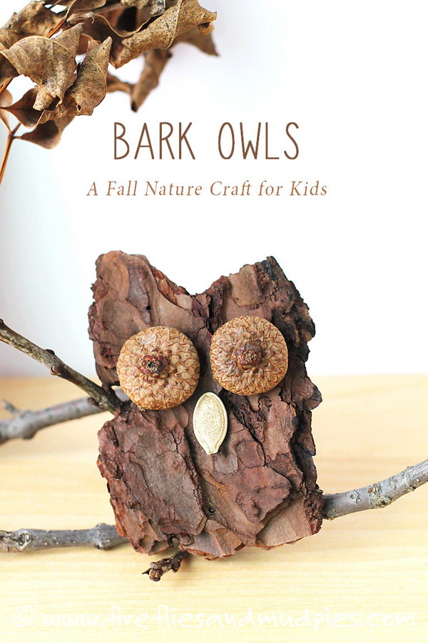 Bark Owl Craft.